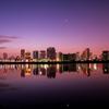 The daybreak of Osaka