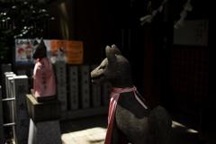 露 天神社稲荷社