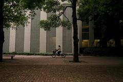ビル街の片隅