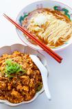 麻婆豆腐と中華そばの定食