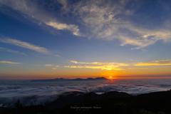 雲海の日の出