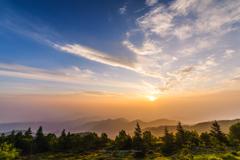 柔らかな朝の光