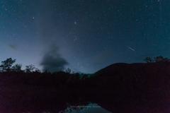 星空とまいめの池