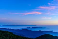 爽やかな高原の朝