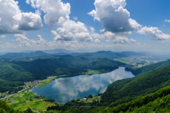 木崎湖<夏>
