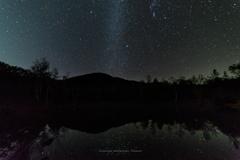 星降るまいめの池