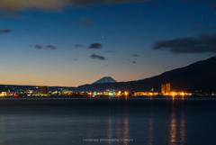 夜景<諏訪湖>