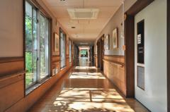 ショートステイ「愛知たいようの杜」居室前廊下