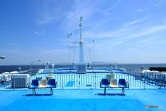 船上の一風景