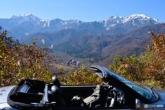 冠雪の越後駒ヶ岳