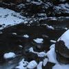 小中大滝付近の名のわからない川