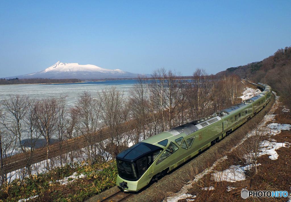 2017.04.05 冠雪の駒ケ岳