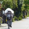 シェード付き自転車