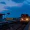 夜明けの列車