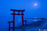 満月の大漁神社