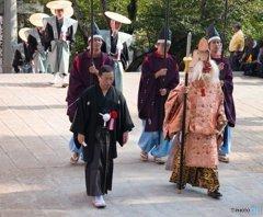 諏訪神社お上り-猿田彦