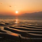 NIKON NIKON D750で撮影した(御興来海岸夕景)の写真(画像)