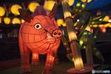 ランタンオブジェ《豚さん》