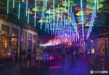 光のアンブレラストリート
