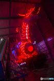 光のドラゴンロボ・・