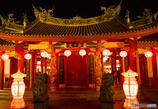 孔子廟春節の夜