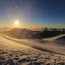 マウナ・ケア山頂からの夕日