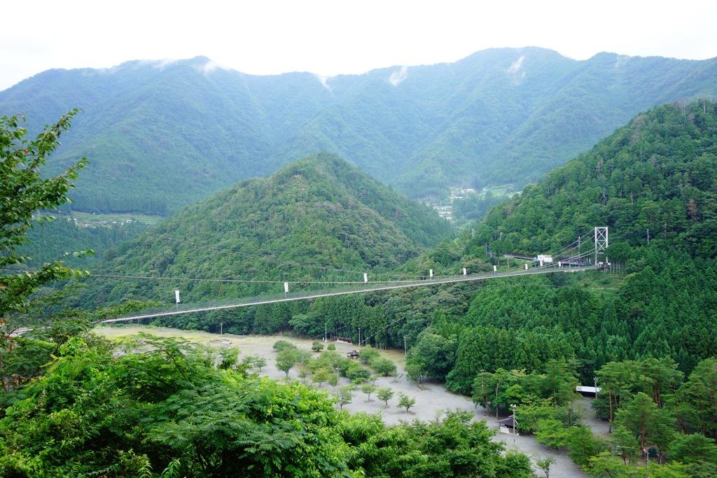 谷瀬の吊り橋DSC05299