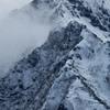 厳冬の権現岳