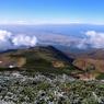 RICOH GR Digitalで撮影した風景(庄内平野と鳥海山)の写真(画像)