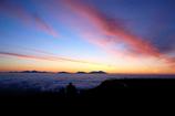 夜明けと雲海