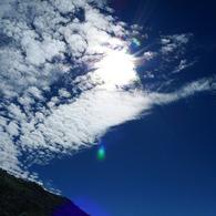 PANASONIC DMC-LX3で撮影した風景(雲)の写真(画像)