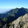SONY DSC-P100で撮影した風景(鹿島槍ヶ岳)の写真(画像)