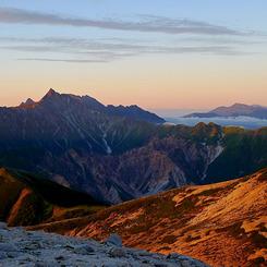 PANASONIC DMC-LX3で撮影した風景(夜明け)の写真(画像)