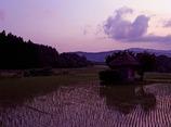 遠野の夕暮