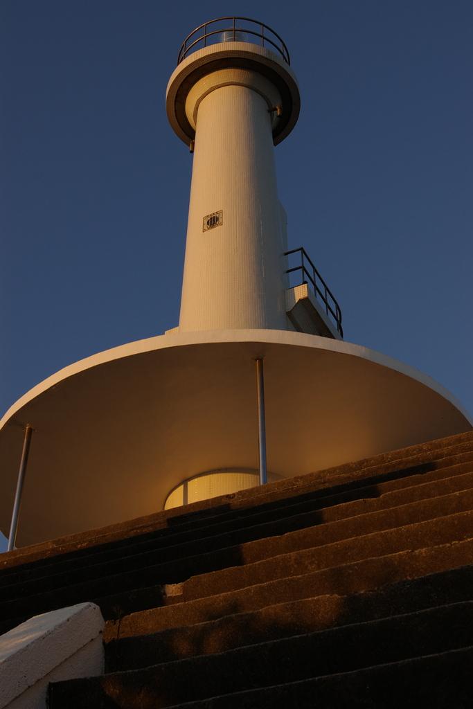夕焼け灯台