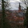 ハイデルベルク城から見た旧市街地