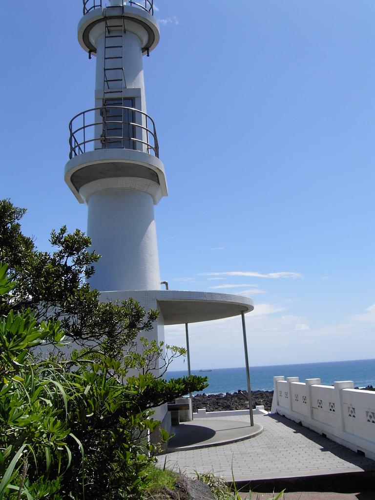 薩摩半島南端・長崎鼻の灯台