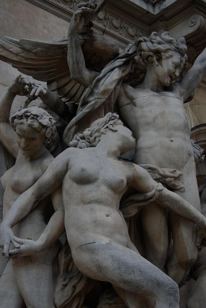 オペラ・ガルニエの石像