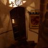 ヒルシュホルン古城ホテルの螺旋階段