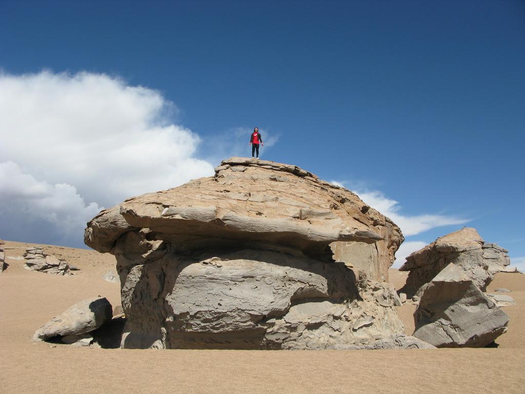 ボリビア Bolivia 砂漠 奇岩