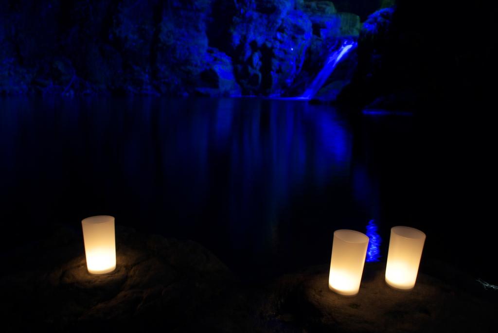 赤目滝 冬のライトアップ