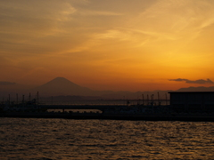 江ノ島にて