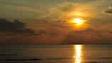 夕陽と漁船 #3