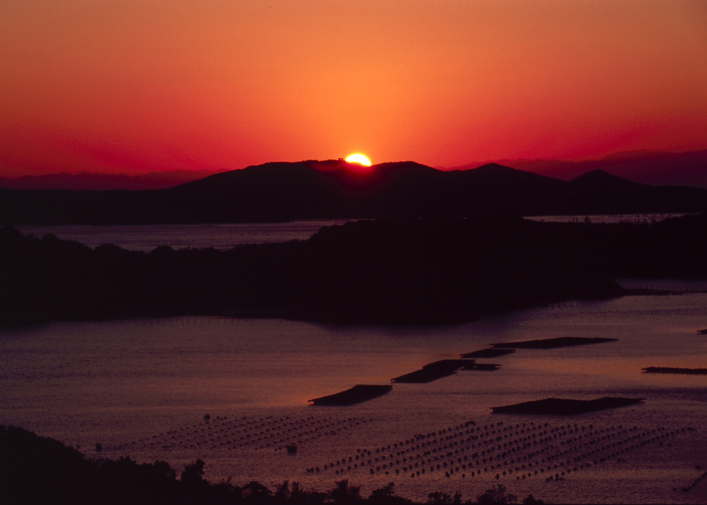 伊勢志摩の夕日1