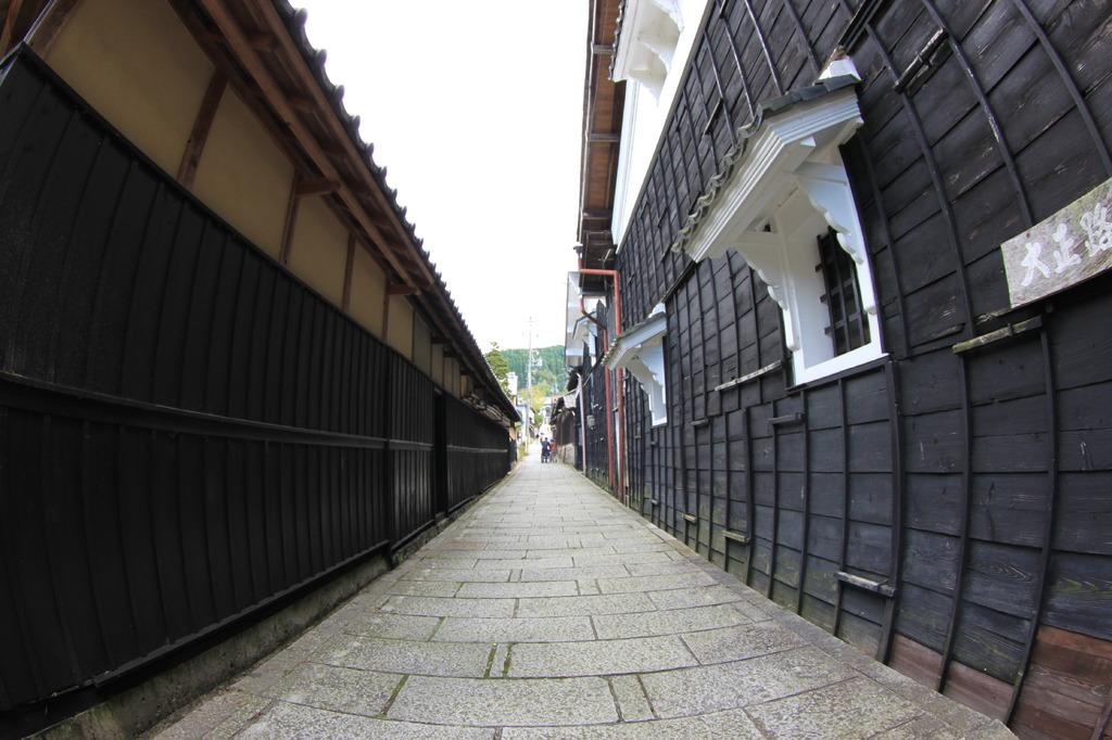 大正時代の路地
