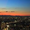 東京の夕景