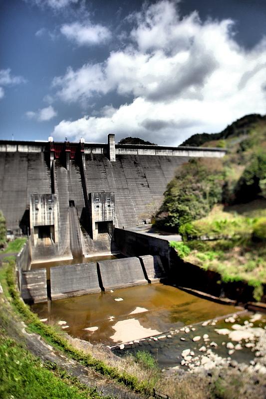 美杉のダム