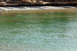 サルファー山の硫黄入りボウ川