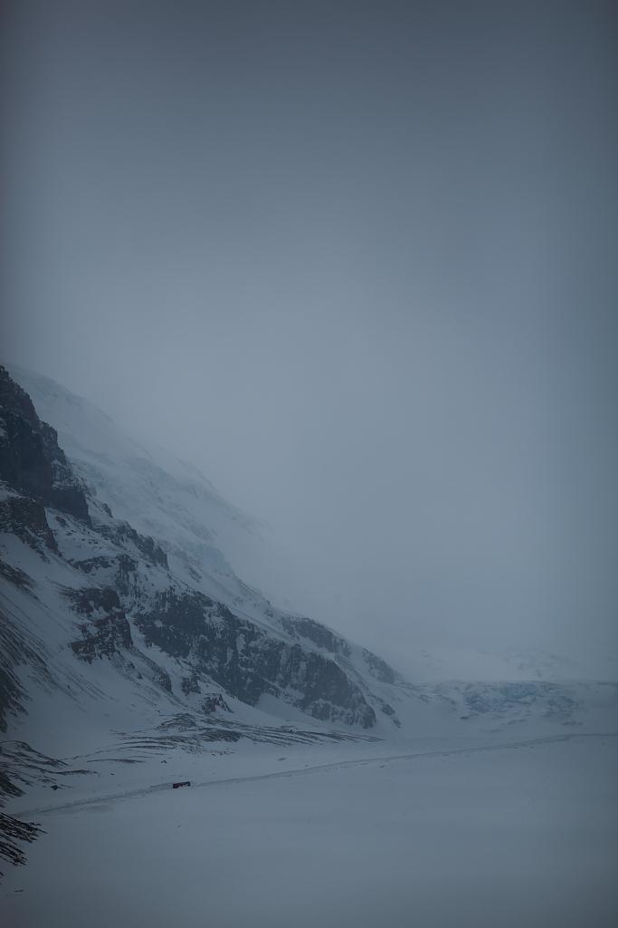 2%の氷河へ