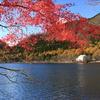 紅葉の榛名湖